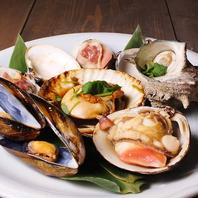 ぷりっつぷりの美味しい貝類をご堪能ください。