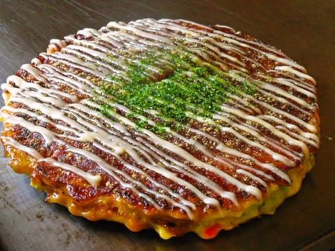 お好み焼きは関西風、広島風、ねぎ焼きも楽しめる♪鉄板焼きや単品メニューも充実!