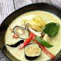 料理メニュー写真海老のグリーンカレー