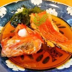 季節魚のおすすめ