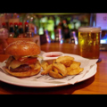 料理メニュー写真JuRA'sアメリカンバーガー