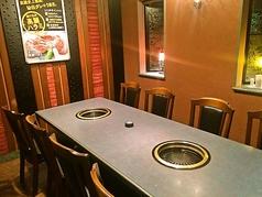 大切な仲間との食事にぴったり!2階の個室席は4名~10名まで利用可能。お医者様の接待でのご利用も多いです。