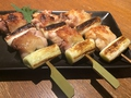 料理メニュー写真本日のねぎま食べ比べ3本セット
