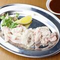 料理メニュー写真新鮮白センマイ
