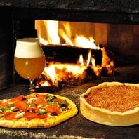 石窯で焼く本格ピザ!心を込めて作る本場の味☆