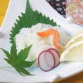 【季節のアラカルト一例】海藤花(かいとうげ) 680円 ※内容は仕入れによって変わる場合がございます