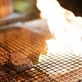 【1】炭火で豪快に焼き上げます
