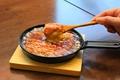 料理メニュー写真すりおろし山芋lのトロトロ鉄板おこのみ焼き プレーン