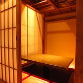 同じ人数の個室空間でも内装の違う様々な空間が御座います。毎回違った雰囲気でもお楽しみ頂けます。