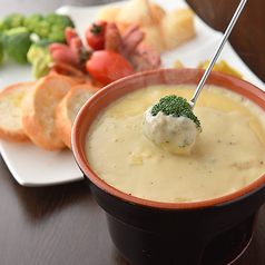 チーズフォンデュ&野菜のセット