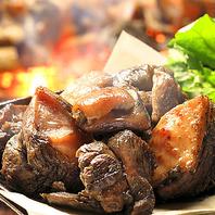 【厳選食材】地鶏炭火焼きがコースにも新登場