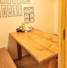 【テーブル個室】店内奥にある4名様個室も人気♪