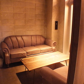 ソファを使用した個室はプライベート感たっぷり◎