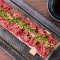 料理メニュー写真50cmロングユッケ寿司