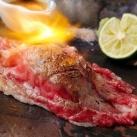 いずもの肉自慢♪溶岩焼で楽しむ贅沢な逸品の数々!