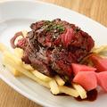 料理メニュー写真牛のカイノミステーキフリット