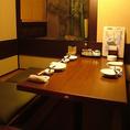 6名様用の個室でプチ宴会やご友人同士・仲間内での飲み会にお勧めのお席です。プライベート感があり、周りを気にせず宵をお愉しみ頂けます。当店はコース・アラカルト料理・ドリンクともに豊富です!