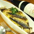 料理メニュー写真旬の鮮魚パスタ。秋は脂ののった秋刀魚を…♪
