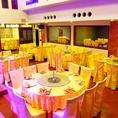 ★最大150名様まで収容可能なフロア、テーブル席