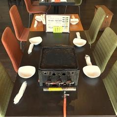 5~6名様用テーブル席。