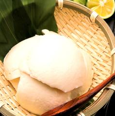 手作り豆腐の冷やっこ