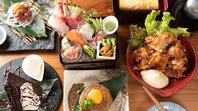 新鮮な魚介や沖縄の食材を使った美味しい創作料理