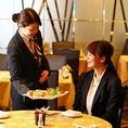 ホテルならではの「上質感と安心感」ホテルだからこそできるきめ細やかな接客は、どんなシーンにもぴったり。安定したサービスが提供できるよう従業員一同努めております。素敵なお時間をぜひ香虎でお過ごしください