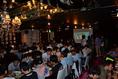 100名の学生サークル打ち上げパーティ