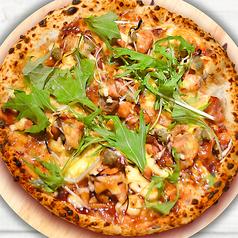 料理メニュー写真ALL¥500均一★チキンと蓮根のテリヤキソースピッツァ