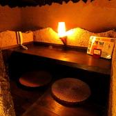 ゆったりと…畳が香る座敷は宴会にオススメ!ちょっぴり暗めの照明が落ち着いた雰囲気◎