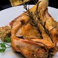 料理メニュー写真骨付き阿波尾鶏のロースト