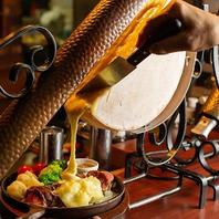 牛ショルダーテンダーステーキのラクレットチーズかけ