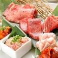 コース料理も料理長が厳選し、その日のオススメのお肉を提供させていただきます!
