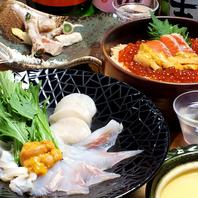 旬の道産食材を使用した一品料理多数