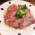 料理メニュー写真宮崎牛のタリアータ