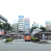 [甲府駅][南口][徒歩1分]駅からバスターミナルの向かい左側すぐ★甲府駅前で場所もわかりやすく幹事様も安心の立地です! 吉野家の隣りの隣りのビル★