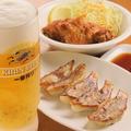 料理メニュー写真一杯セット(餃子変更は100円UPです)