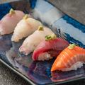 料理メニュー写真海鮮にぎり5貫盛り
