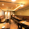 最大26名様でご利用いただけるテーブル宴会個室。歓迎会や送別会、会社の飲み会など各種ご宴会に最適です。