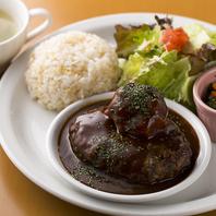 ◆サラダ・スープ・一品・ライス付!ランチプレート◆