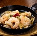 料理メニュー写真【人気】海老とキノコのアヒージョ