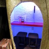 洞窟に囲まれた完全個室!洞窟のような2人個室です。お客様の居心地を第一に考えたこだわりの空間。