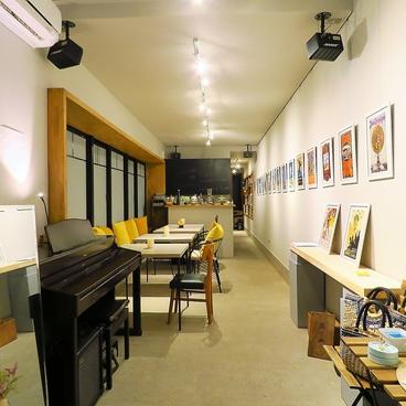 エムエデギャラリー カフェ M et D Galerie cafe 三軒茶屋の雰囲気1