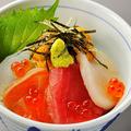 料理メニュー写真地魚いろいろ海鮮小丼
