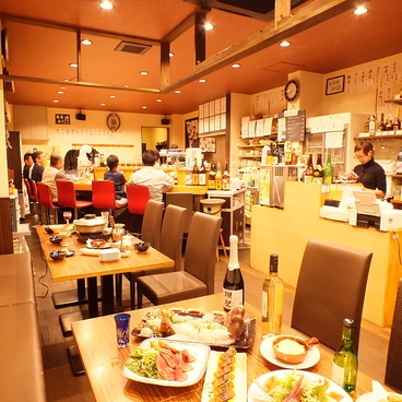 居酒屋 Dining 楽ZENきわきの雰囲気1