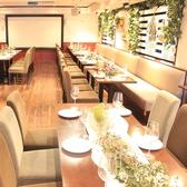 大人数対応可能なパーティースペース! 何名様でも貸切となり、他なお客様の出入りもないプライベート空間♪着席60名様まで/立食なら120名様までParty可能!