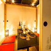 各種ご宴会にお使い頂ける様々な個室席。
