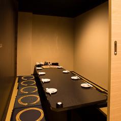 写真は8名様完全個室★何名様でも完全個室へご案内★
