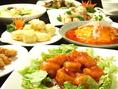 【本格中華料理コース】2時間飲み放題付+7品⇒3500円(税込)