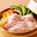 料理メニュー写真霧島豚といろいろ野菜のセイロ蒸し